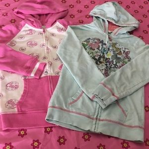 Other - Bundle of two Up Hoodie Girls Size S/M